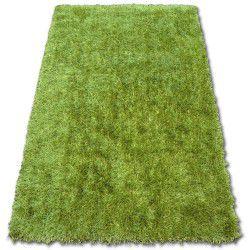 Teppich SHAGGY LILOU grün