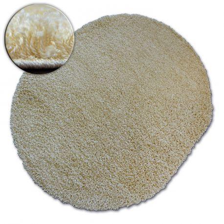 Teppich oval SHAGGY GALAXY 9000 Knoblauch
