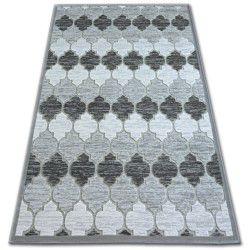 Teppich ACRYL YAZZ 3766 grau/Elfenbein Trellis