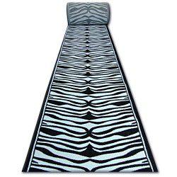 Läufer HEAT-SET FRYZ 9032 schwarz und weiß ZEBRA