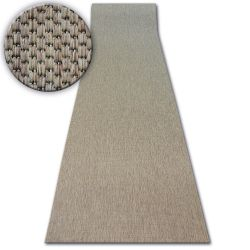 Läufer SISAL FLOORLUX Modell 20433 coffee GLATT