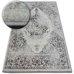 Teppich SHADOW 477 creme / dunkelbeige - Rosette