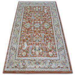 Teppich ARGENT - W7039 Blumen Terra / Beige