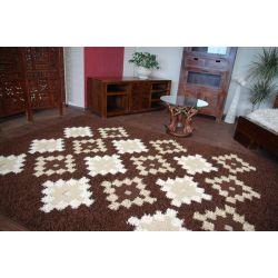 Teppich TRIPLEX BARID dunkel braun