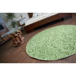 Teppich kreis TOPOLINO grun
