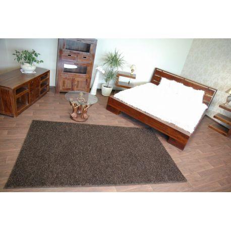 Teppichboden SHAGGY MISTRAL 95 dunkelbraun