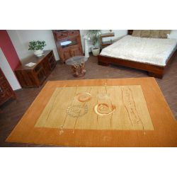 Teppich ART - MI MI rostbraun