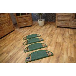 Treppenteppich JENA grün