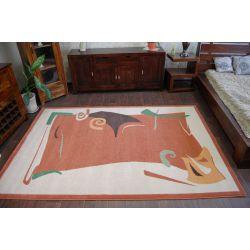 Teppich WEL-HIT KARAMBA Terracotta