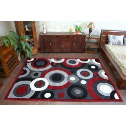 Teppich CHENILLE 9386 schwarz/red