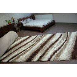 Teppichbode SHAGGY 5cm Modell 2714 ivory beige