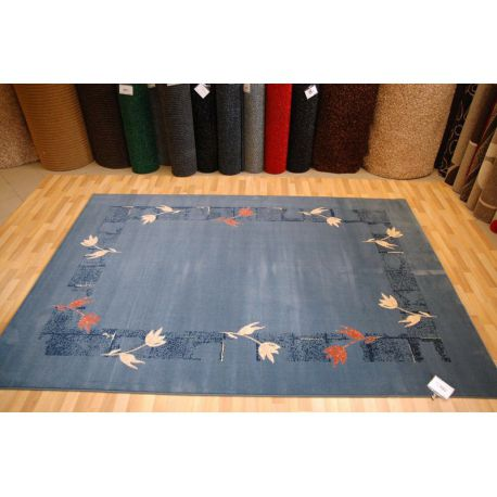 Teppich SPIRIT RAMKA marineblau