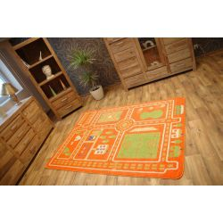 Teppich KIDS CITY orange