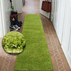 Läufer SHAGGY 5cm grün
