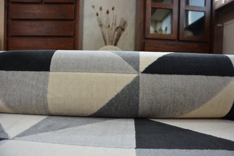 Modern Teppich CANVAS SCANDI Balta Flachflor Dicht