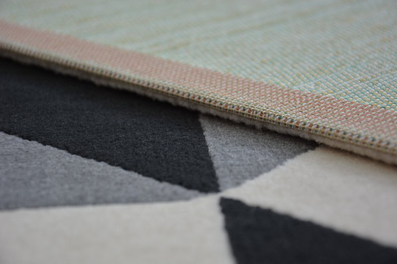 modern teppich canvas scandi balta flachflor dicht. Black Bedroom Furniture Sets. Home Design Ideas