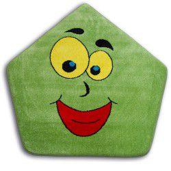Teppich PAINT  Fünfeck - 1553 grün