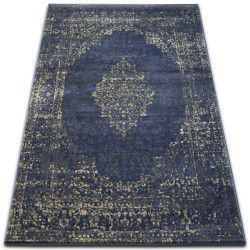 Teppich DROP JASMINE 455 Dunkelblau