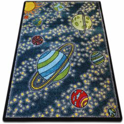 Teppich KIDS Kosmos blau C420