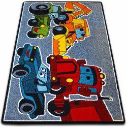 Teppich KIDS Autos grau C418