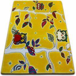 Teppich KIDS Forest gelb C427