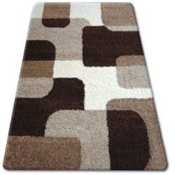 Teppich SHAGGY ZENA 2526  hellbeige / dunkel beige