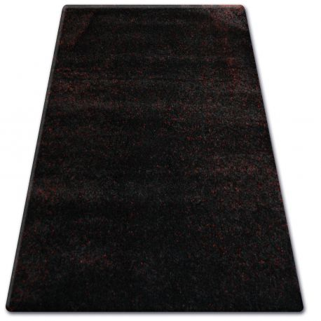 Teppich SHAGGY NARIN P901 schwarz und rot