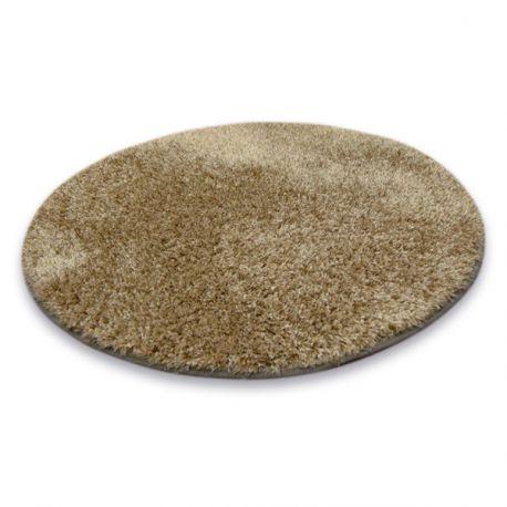 Teppich Kreis SHAGGY NARIN P901 dunkelbeige