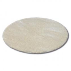 Teppich Kreis SHAGGY NARIN P901 Creme