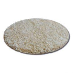 Teppich Kreis SHAGGY NARIN P901 garlic/Gold beige