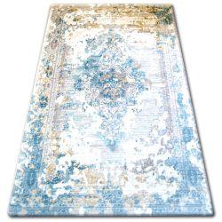 Teppich ACRYL TALAS 0300 Sand Beige/Glass Blue