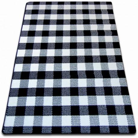 Teppich SKETCH - F759 weiß/schwarz