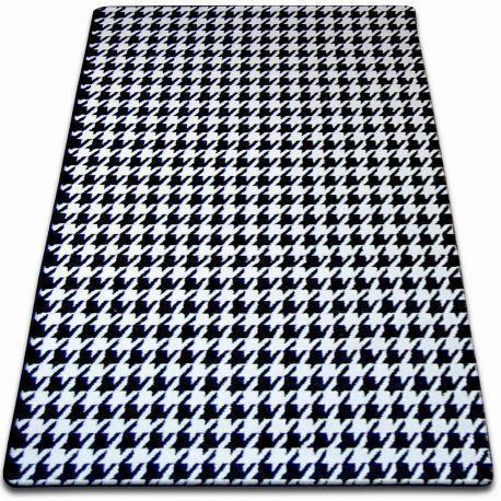 Teppich SKETCH - F763 weiß/schwarz