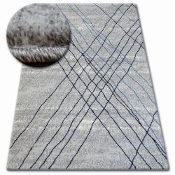 Teppich SHADOW 9367 grau / blau