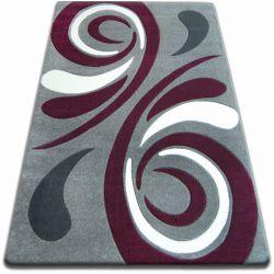 Teppich FOCUS - 8695 grau lila