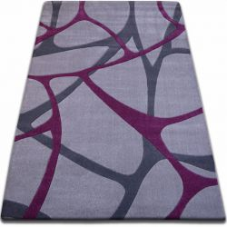 Teppich FOCUS - F241 grau lila