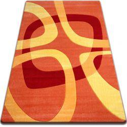 Teppich FOCUS -  F242 orange Quadrat Viereck