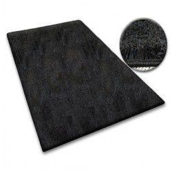 Teppichbode SHAGGY 5cm schwarz