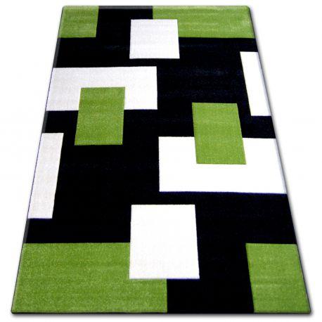 Teppich PILLY 7778   Schwarz/grun