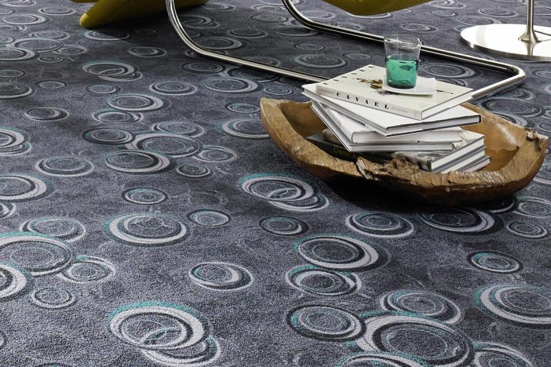 langlebig modernen teppichboden drops grau gro e gr en. Black Bedroom Furniture Sets. Home Design Ideas