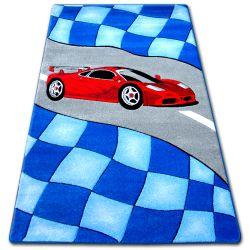Teppich für Kinder HAPPY C227 blau