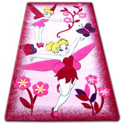 Teppich für Kinder HAPPY C224 rosa Fee