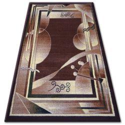 Teppich heat-set PRIMO 5741 braun