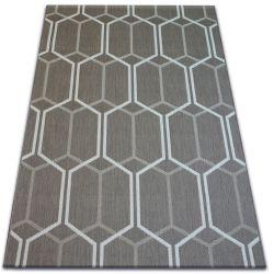 Teppich FLAT 48609/086 SISAL - Wabe