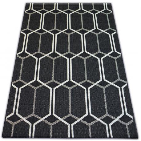 Teppich FLAT 48609/090 - Wabe