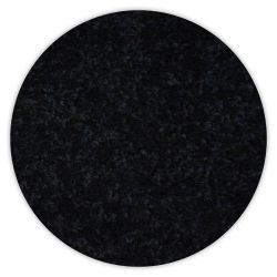Teppich kreis TRENDY 159 schwarz
