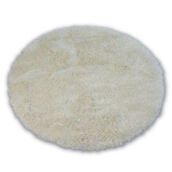 Teppich LOVE SHAGGY kreis modell 93600 Creme