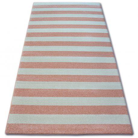 Teppich SKETCH - F758 Rosa/Sahne - Streifen