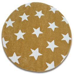 Teppich SKETCH ring - FA68 Gold/Sahne - Stern