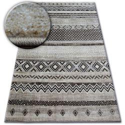 Teppich SHADOW 1835 creme / braun - Diamanten